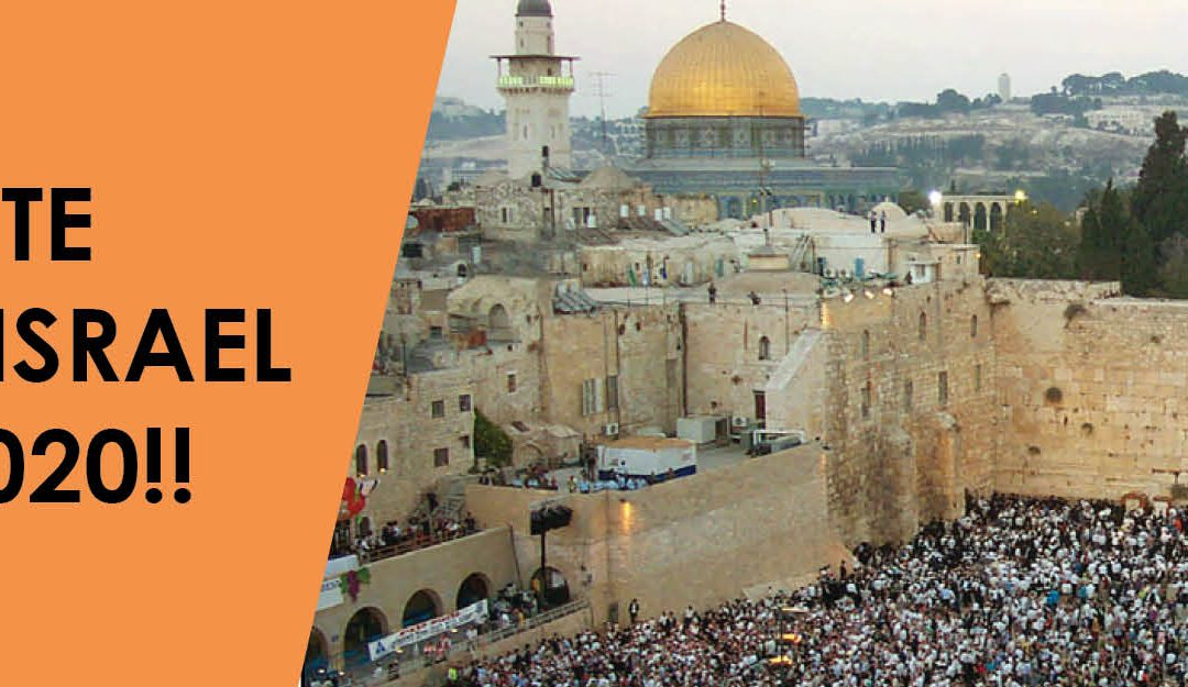 Marla's Minute ACE goes to Israel Oct 19 – 27, 2020!!